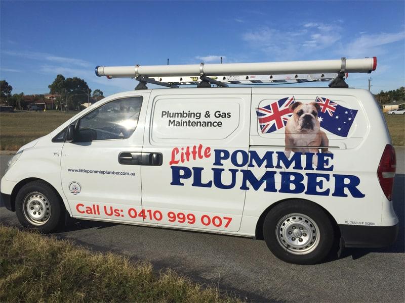 little pommie plumber van spotted again in melville
